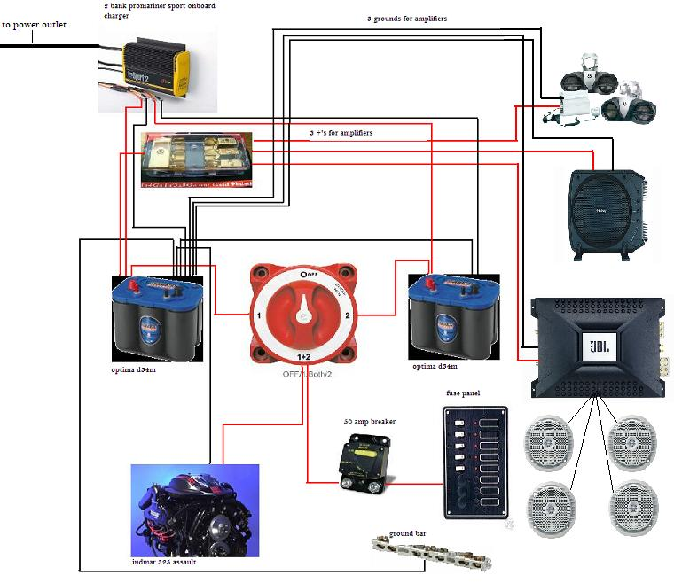 Boat Dual Battery System Wiring Diagram - Wiring Solutions