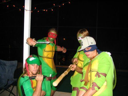 Liquid Force Ninja Turtles
