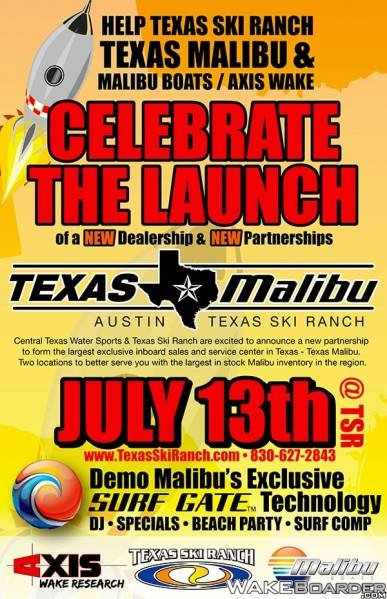 Texas Malibu Launch Party