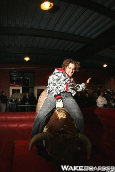 Shane Bull Riding